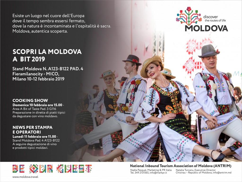 Invito Moldova Bit Milano