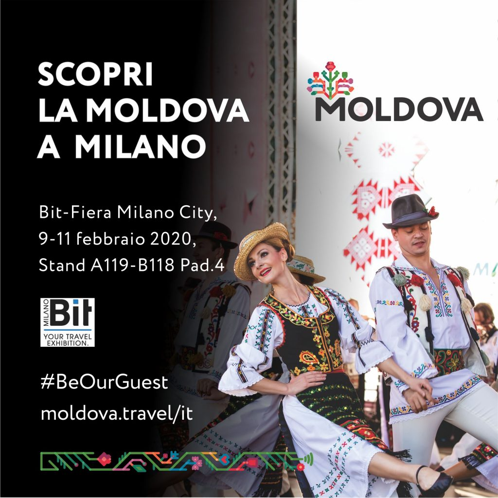 Moldova: le novità 2020 a Bit Milano 9-11 febbraio